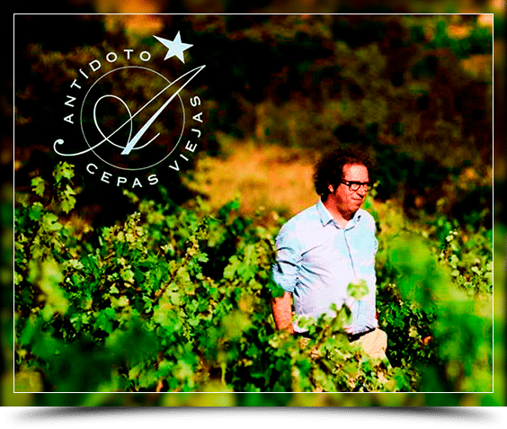 Bertrand Sourdais en su viñedo